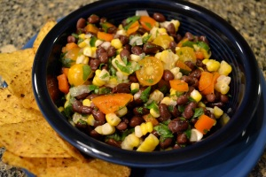 simple black bean salad