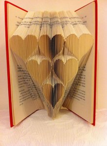 Have you ever heard of book folding? Me neither! (image borrowed from BookFoldingForever on Etsy.com)